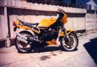 RZ 350 yellow/black